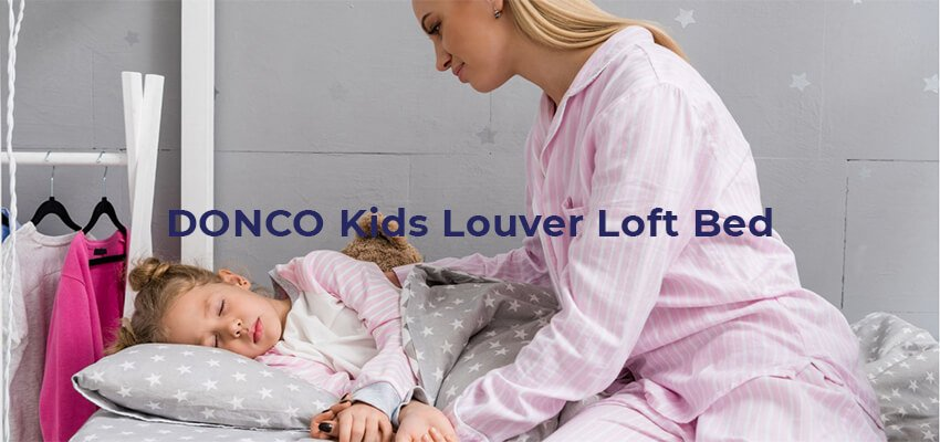 DONCO Kids Louver Loft Bed