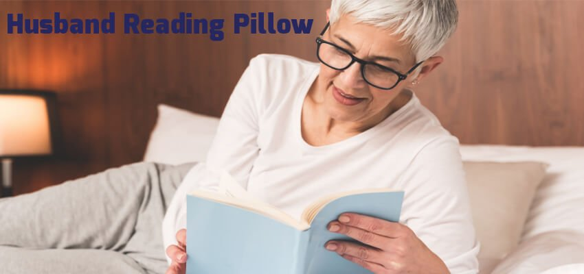 Husband Reading Pillow