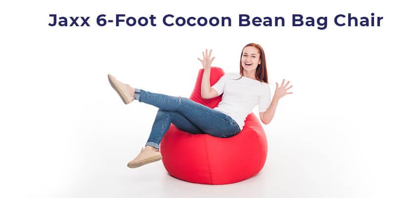 Jaxx 6-Foot Cocoon Bean Bag Chair