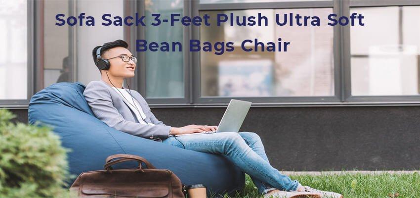 Sofa Sack 3-Feet Plush Ultra Soft Bean Bags Chair