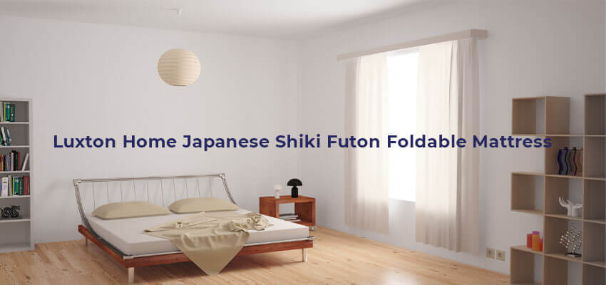 Luxton Home Japanese Shiki Futon Foldable Mattress